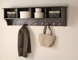 Floating Entryway Shelf Coat Rack 100 best Coat Racks images on Pinterest Clothes racks Coat racks 66