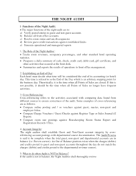 Night Auditor Job Description Resume Night Auditor Hotel Resume Sales Auditor Lewesmr 1