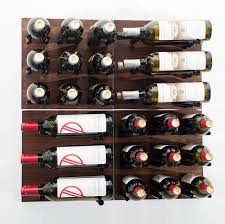 Wall mounted wine bottle rack Vintage Wall Vintageview Grain And Rod 30 Bottle Wall Mounted Wine Rack Reviews With Decor Nepinetworkorg Home Haus Ancona Bottle Wall Mounted Wine Rack Reviews Throughout