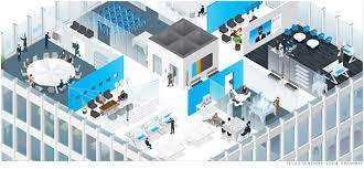 future office design. future office design