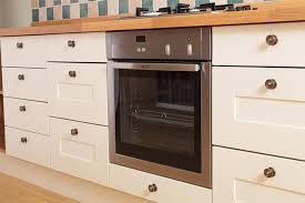 our solid oak oven housing base cabinets are ideal for under counter appliances