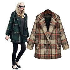 plaid winter coats get ations a coat women new brand plus size wool double ted mens plaid winter coats
