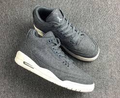 jordan shoes retro 3. new-air-jordan-3-wool-dark-grey-dark- jordan shoes retro 3
