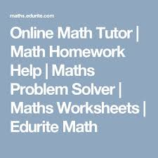 the best math problem solver ideas math solver online math tutor math homework help maths problem solver maths worksheets edurite