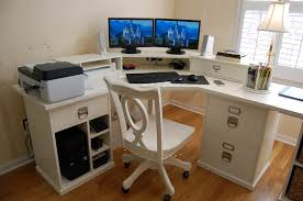 pottery barn bedford home office update bedford shaped office desk