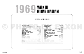 1969 lincoln mark iii factory wiring diagram original electrical click for image 1