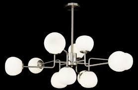 Casa Padrino Kronleuchter Silber Weiß ø 110 X H 427 Cm Moderner Kronleuchter Mit Runden Mattglas Lampenschirmen