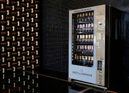 Vending Machine Business Las Vegas Magnificent Champagne Vending Machine In Las Vegas Is Only One Of Its Kind In