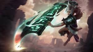 league of legends riven animated wallpaper