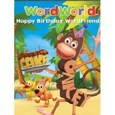 Wordworld Birthday Party Hero Dvd Best Party Packs