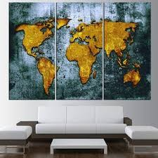 >20 best ideas canvas map wall art wall art ideas large canvas world map wall art canvas from artcanvasshop on etsy with canvas map wall art