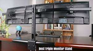 best triple monitor stand reviews of