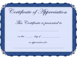 free recognition certificates free printable certificates certificate of appreciation