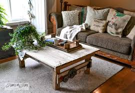 funky wood furniture. Pallet Wood Coffee Table With Junk Jewelry Via : Http://www.funkyjunkinteriors Funky Furniture