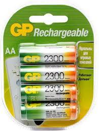 <b>Аккумулятор GP 230AAHC AA</b> NiMH 2300mAh (4шт) купить в ...