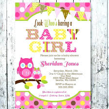 Free Printable Baby Shower Invitations For Girls Baby Girl Owl Invitations Invitation Cards