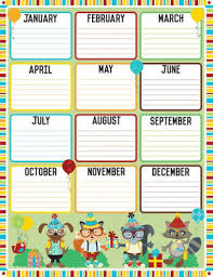 Birthday Chart Hipster Birthday Chart Other Format