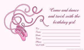 Print Birthday Invitation Free Birthday Invitations To Print For Kids Choose Your Theme