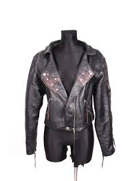details about ramones womens jacket leather vintage size 40