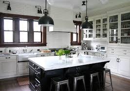 Botoom Traditional Kitchen Black Cabinets