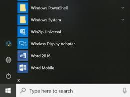 Microsoft Menu Windows 10 Next Year Microsoft Shows Off New Look Start Menu