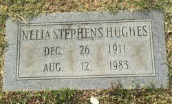 Effie Nelia Stephens Hughes (1911-1983) - Find A Grave Memorial