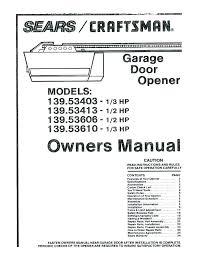 changing garage code