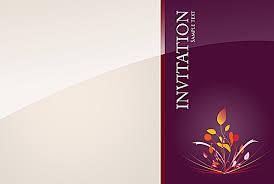 Background Wedding Invitation Card Design Vector Background Wedding
