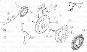 cub cadet 2166 tractor ignition electrical diagram and parts list 012345678910