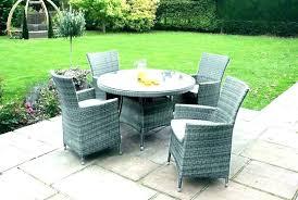 circular patio table patio seating set
