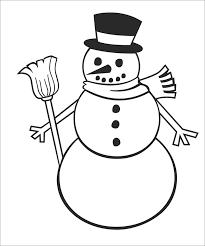 Snowman Template Printable Snowman Template Snowman Crafts Free Premium Templates