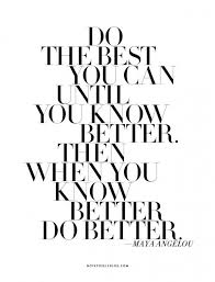 Do Your Best Quotes