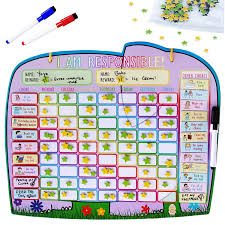 Behaviour Reward Charts For 8 Year Olds Buy Yoyoboko Ele Fun Star Chart Premium Magnetic Reward