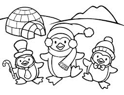Winter Coloring Pages For Preschool Winter Coloring Sheets Printable