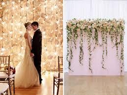 backdrop or wedding wall
