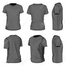 shirt design templates men s black short sleeve t shirt design templates royalty free