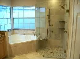 jetted tub shower combo home depot whirlpool with marvelous combination corner w larger walk in do not like the hot bath sho