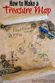Design A Treasure Map Activity Easy Recycled Treasure Map Craft And Activity For Kids Fun