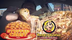 hungry howie s stuffed crust hawaiian pizza review