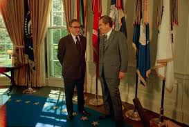 Nixon oval office Kissinger Us Secretary Of State Henry Kissinger Left Is Congratulated By President Richard Nixon In The Oval Office Of The White House Following The Announcement Wikiwand New Woodward Book Reveals Secret Archive With Fresh Insight Into