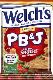 j and j snack food welchs fruit snacks