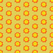 Sun Pattern Amazing My Grinning Mind Happy Smiling Sun Pattern