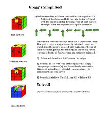 Rubik's Cube Pattern To Solve Awesome How To Solve A Rubik's Cube Easy Move Notation With Pictures