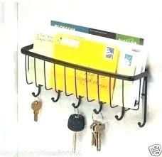 office key holder. Modern Key Rack Holder Wall Keys Mail Mount Office