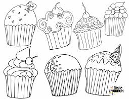 I even have some decorated cupcakes for your favorite seasons. 5 Free Cupcake Coloring Pages Stevie Doodles