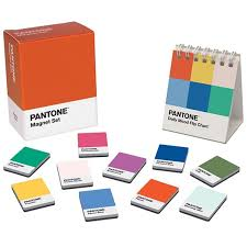 pantone magnet set daily mood flip chart in art gifts