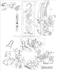 bissell 8910 parts list and diagram ereplacementparts com