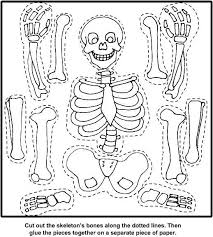 Small Picture Bones Cut Out Coloring PageCutPrintable Coloring Pages Free Download
