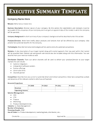 Format For An Executive Summary How To Write An Executive Summary Smartsheet Ic Checklist 0