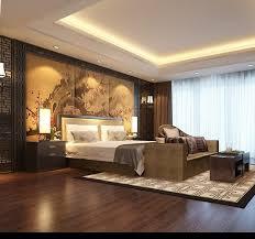 Bedroom Asian Decor 3D model